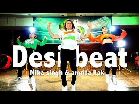 Mix - Desi Beat - Mika singh & amrita Kak - Dance l Chakaboom Fitness l choreography l bollywood not zumba