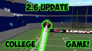Roblox NFL 2 Football 2.6! [Roblox NFL Funny Moments #2]