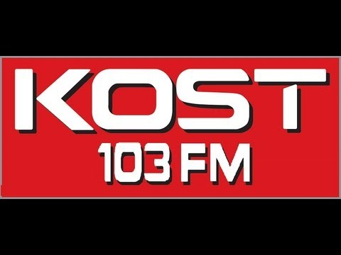 KOST 103.5  Los Angeles - Brian Simmons (1989)