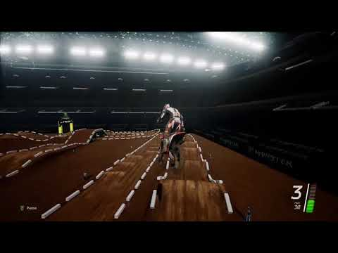 Monster Energy Supercross The Official Videogame- Track Editor- Tolley Compound