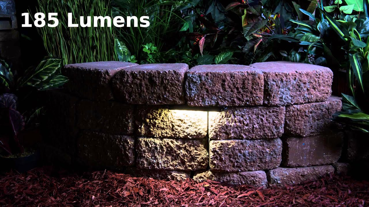 Led Hardscape Lighting Youtube