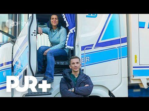 500 PS und 40 Tonnen: So sieht der Alltag einer Truckerin aus - PUR+ | ZDFtivi