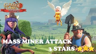 New meta MINER attack war 3 star th12  | Clash of clans strategy | COC#26