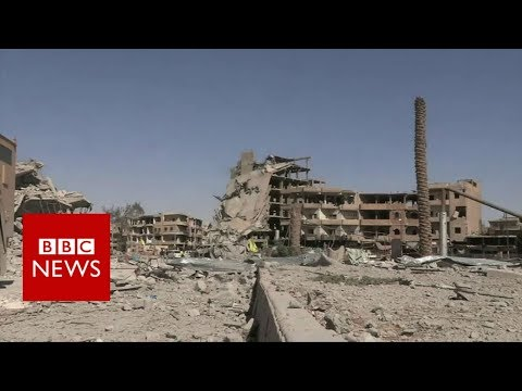 Inside Raqqa after IS was pushed out - BBC News