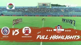 Highlights Shopee Liga 1 2019, Arema Fc 2 Vs 0 Madura United