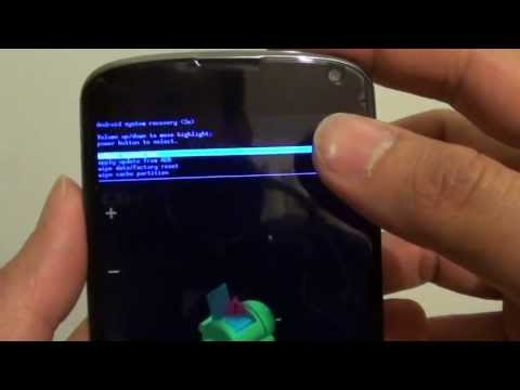 How to Hard Reset LG/Google Nexus 4 (Two Ways)