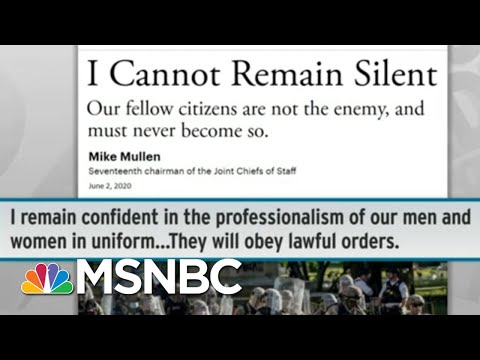 Heavy Criticism For Trump's Hazy Idea To Use Military On US Soil | Rachel Maddow | MSNBC