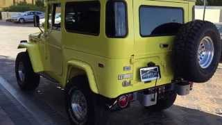Repeat youtube video 1971 Toyota Land Cruiser At Celebrity Cars Las Vegas