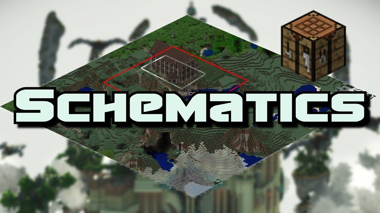 Schematics Minecraft Bukkit Einfügen Und Verwalten YouTube - Hauser in minecraft einfugen