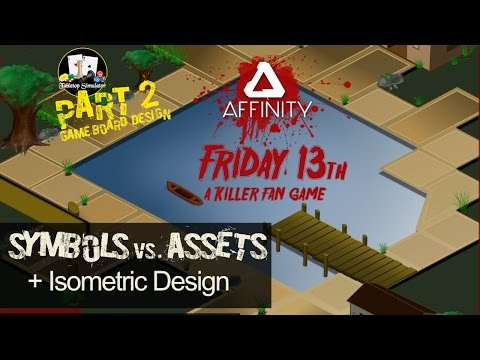 Symbols, Assets and Isometric Design in Affinity Designer.