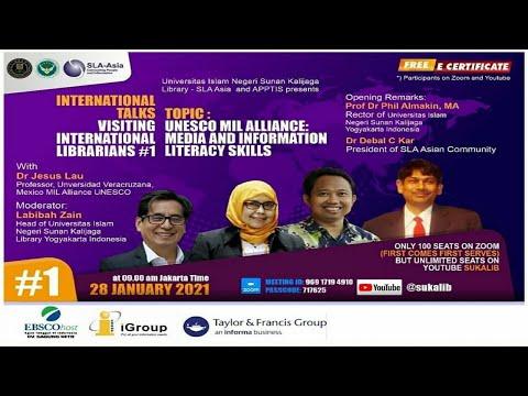 International Talks #1 : Media & Skills - By Dr Jesus Lau (Mexico)