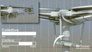 AS-350 Blade Flapping with Starflex (Flappeggio con sistema Starflex)