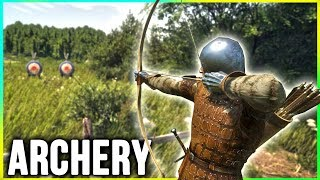 Kingdom Come: Deliverance ARCHER Gameplay -  Skyrim is quite Different!