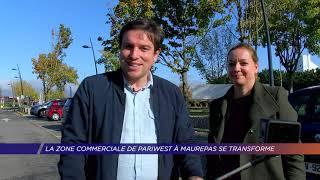 Yvelines | La zone commerciale Pariwest à Maurepas se transforme