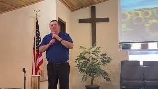 Pastor Hopkins delivers the sermon for Mar. 21st, 2021
