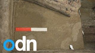 5000 year old footprint found in Denmark