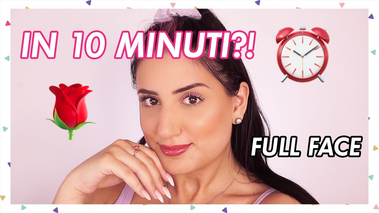 FULL FACE ESTIVA IN 10 MINUTI?? ☀️ con The Lady | Makeup O'Clock ⏰