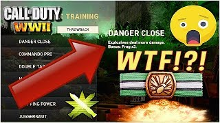WTF!?! MW2 PERKS COMING TO COD WWII? Danger Close & Commando Pro 😱  (COD WWII New Throwback Update)