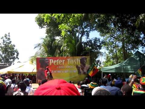 Peter Tosh Tribute Day in Belmont JA Feb 24/2013