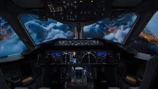 🌧️Soothing Rain on Airplane Window Pane✈️BEST White Noise Sleep Sound, Study Aid   Binaural Beats