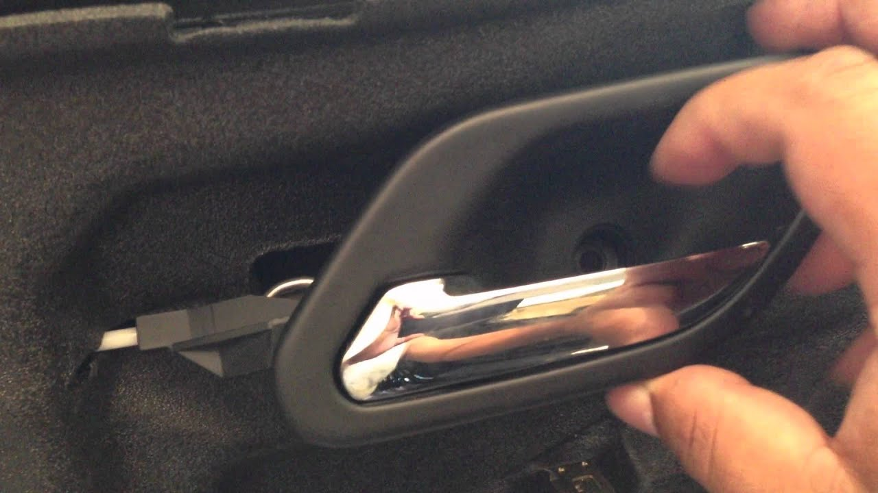 TIP On Loose Door Handle 97-03 BMW 5-SERIES E39 528I 540I M5 - YouTube