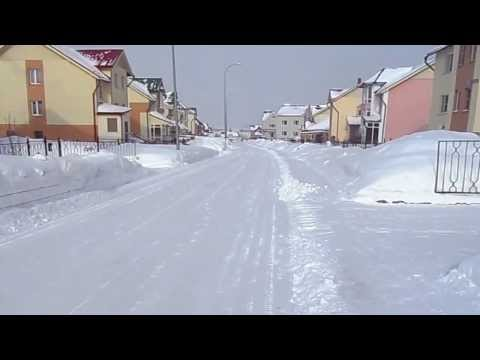 Лесная поляна - Город спутник. Зима. Winter.