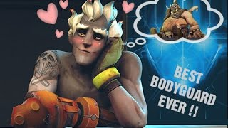 SUCH A NICE BODYGUARD - Overwatch Moment