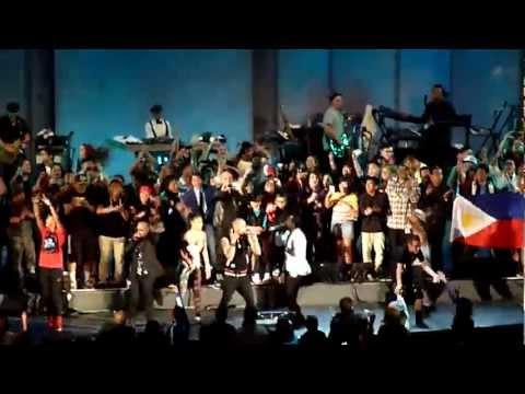 The Black Eyed Peas, Nicole Scherzinger, all artists -