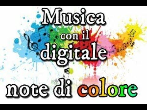 Corso Musica con il digitale Note di colore Wikiscuola per docenti di scuola primaria