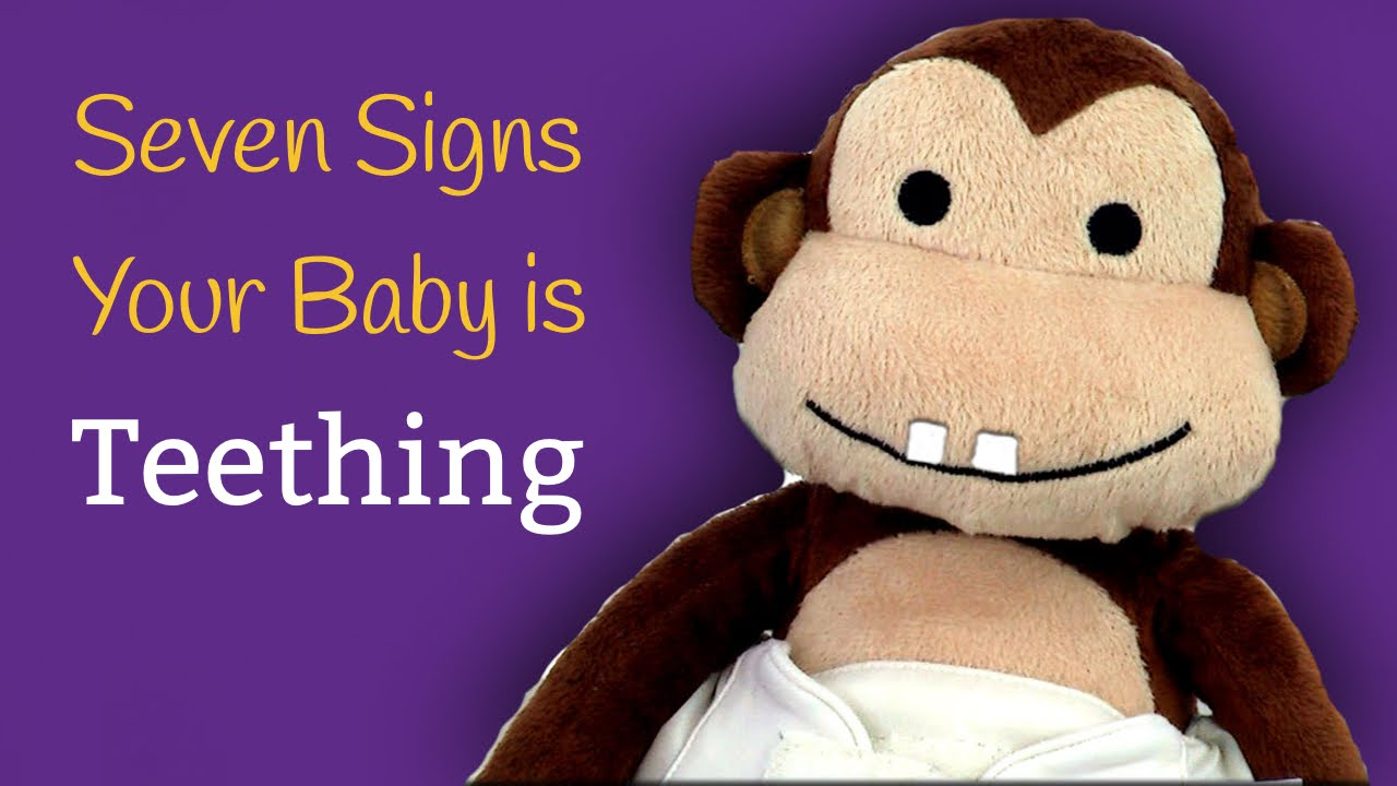 7 Signs Your Baby is Teething - YouTube 1f69fb217c32