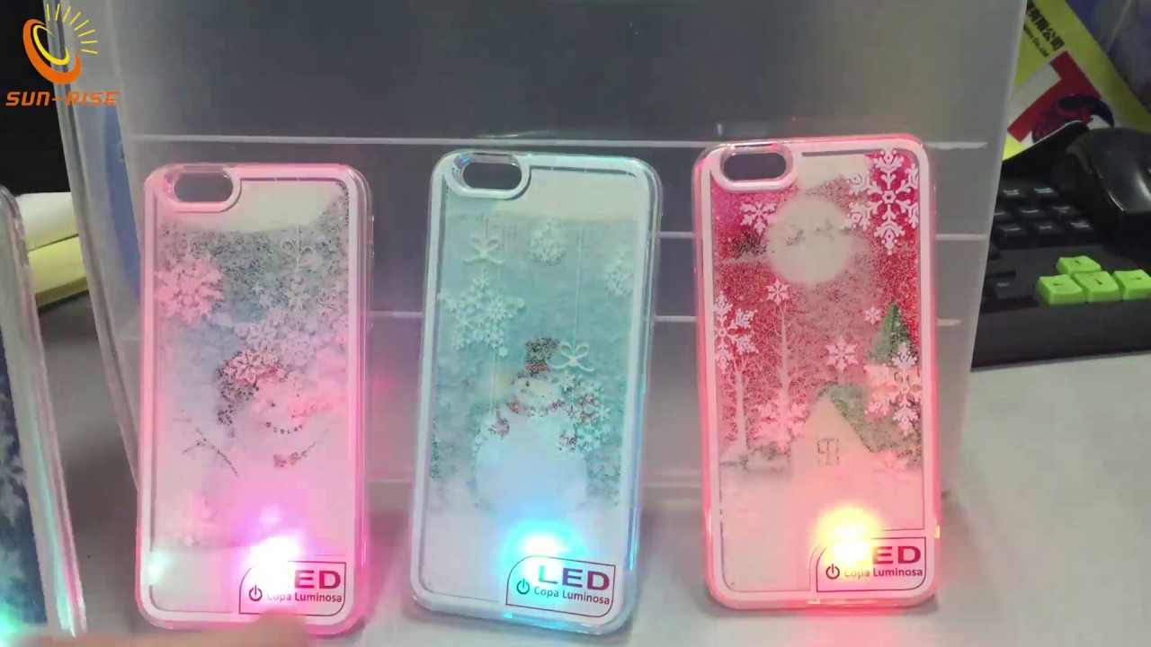 LED Quicksand Phone Case for Christmas 6ab35bf0b