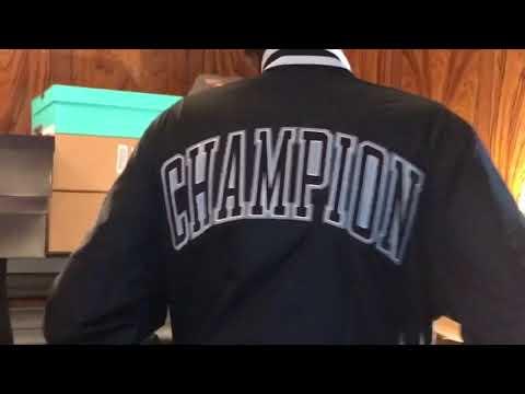 "Champion Life""Satin Baseball Jacket(12yr NepsTryon)""Let Let WholeVid & Ads Play Plz"