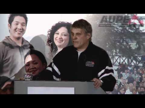 Alberta Union of Provincial Employees Labour School 2011 -- 10th Anniversary