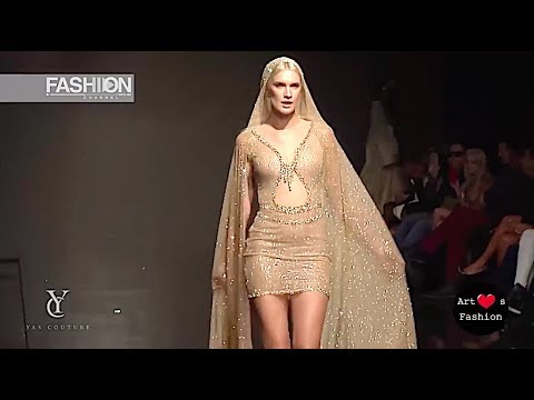 YAS COUTURE by ELIE MADI Spring Summer 2017 Art Hearts Fashion Los Angeles - Fashion Channel