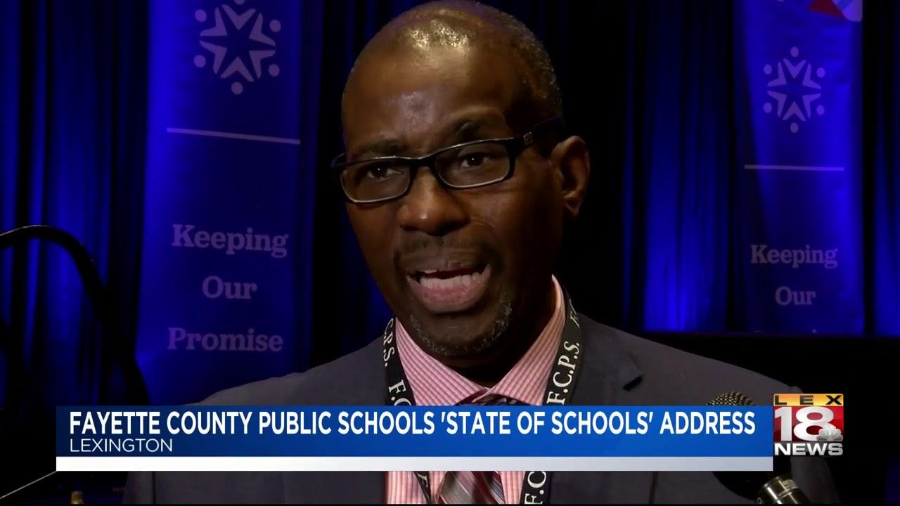 Fayette County Public Schools 'State Of Schools' Address