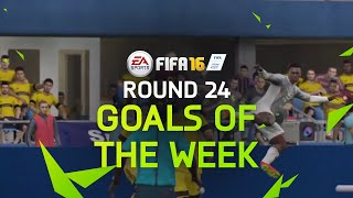 fifa 16 best goals of the week round 24