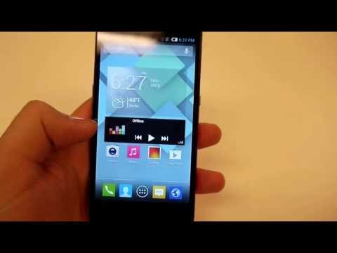 Alcatel One Touch Idol S Hands on