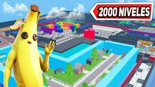 🔴 PARKOUR FORTNITE *2000 NIVELES* ¿LO CONSEGUIREMOS? (FINAL EN DIRECTO)