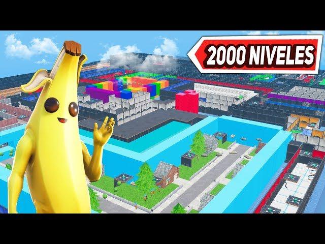 🔴 PARKOUR FORTNITE *2000 NIVELES* ¿LO CONSEGUIREMOS? (FINAL EN DIRECTO)