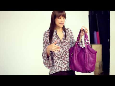 Veronica Webb For OpenSky: Logan Tote Bag By Kooba