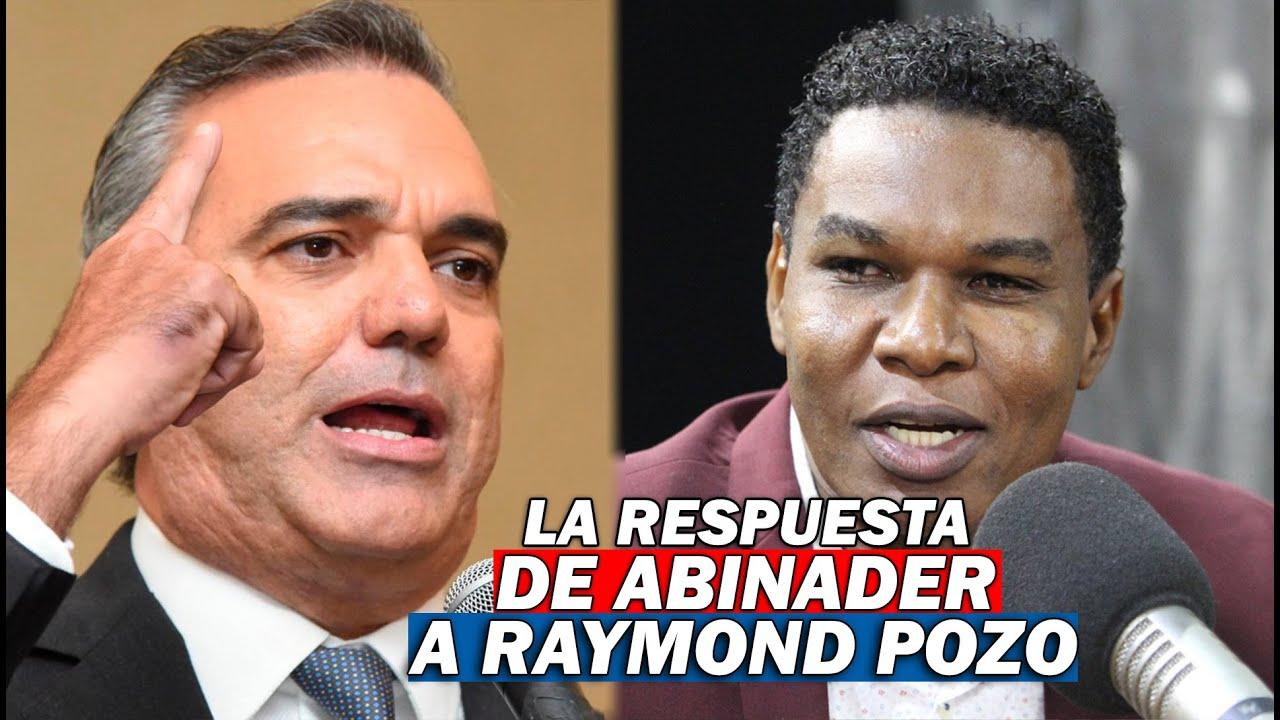 Mira lo que le dijo Luis Abinader al humorista Raymond Pozo!!!