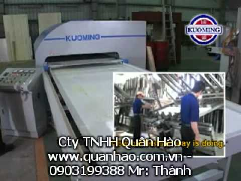 máy ép cao tầng may ep cao tang KGW 1030H HIGH FREQUENCY AUTOMATIC WOODEN BOARD JOINING MACHINE   KUOMING