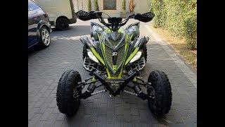 Rebuild  Yamaha Raptor 700/ hybrid Swap engine Yamaha MT-07 / exhaust sound /ASG Częstochowa