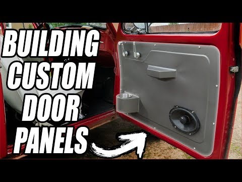 Building Aluminum Door Panels From SCRATCH! (With Ordinary Tools)
