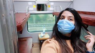DELHI to UDAIPUR   My First Class OVERNIGHT Sleeper Train   MEWAR EXPRESS