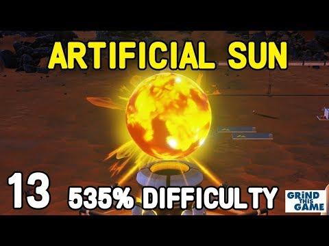 Surviving Mars - ARTIFICIAL SUN WONDER #13 - (535%) DIFFICULTY Playthrough [4k]