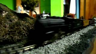 Coffee Table N Gauge Train Layout
