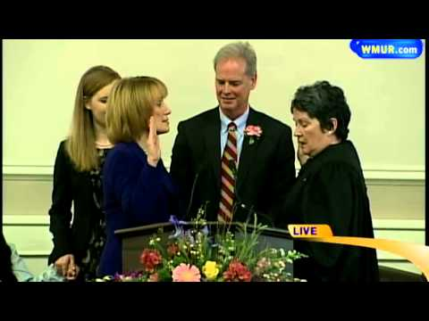 Raw Video: Maggie Hassan takes oath of office