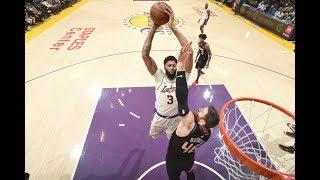 Anthony Davis and LeBron James Put On A Dunk Fest vs. Phoenix Suns