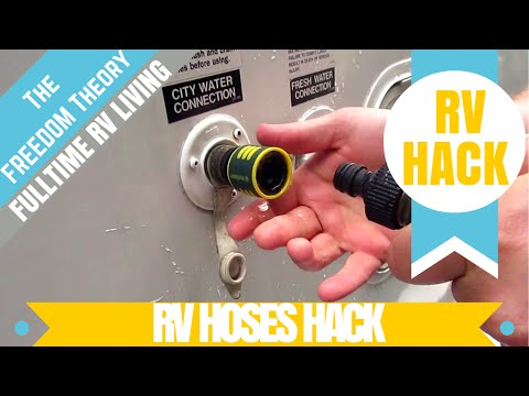 RV LIFE | QUICK CONNECTS HOSE MANAGEMENT | The Freedom Theory